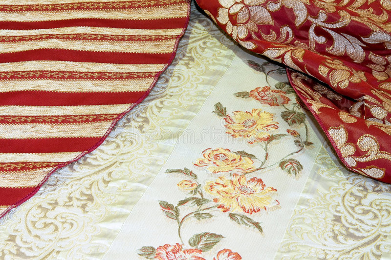 Download Luxury linen stock image. Image of decor, floral, flower - 4687031