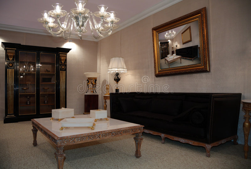 Download Luxury living room stock image. Image of fashion, design - 9157015