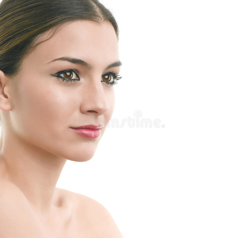 Download Luxury make-up portrait stock image. Image of high, copy - 30779335