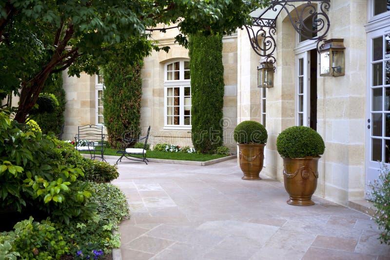 Luxury mansion royalty free stock photo