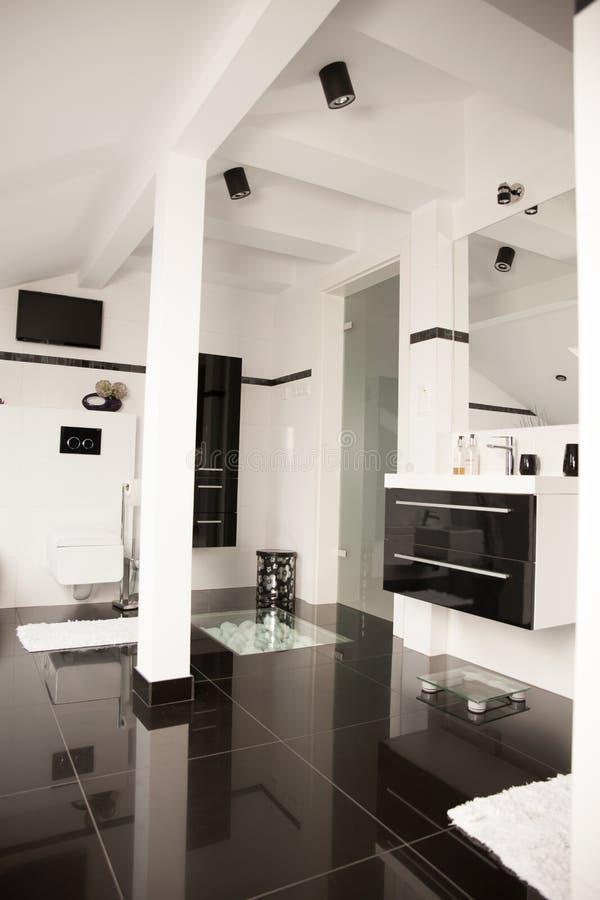 Luxury Master Bathroom royalty free stock photography