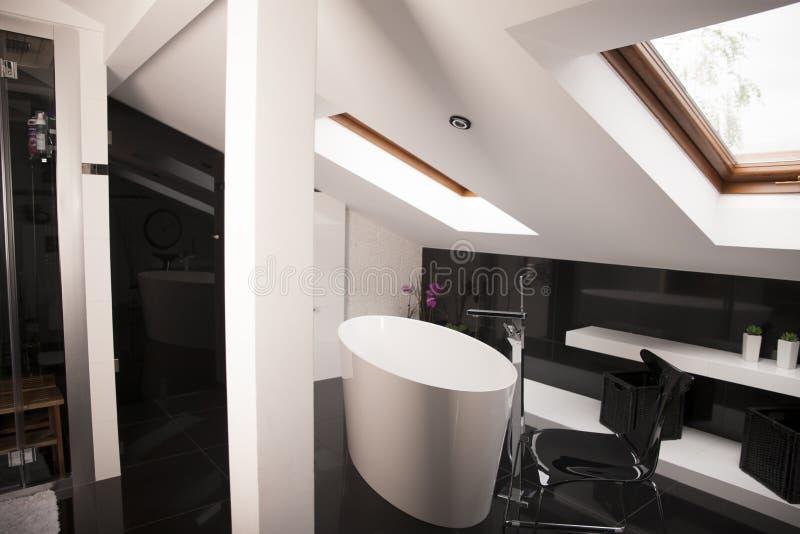 Luxury Master Bathroom stock photography