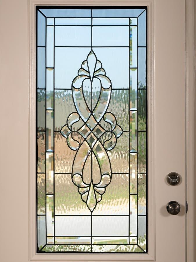 Luxury Model Home front door 2 stock photo