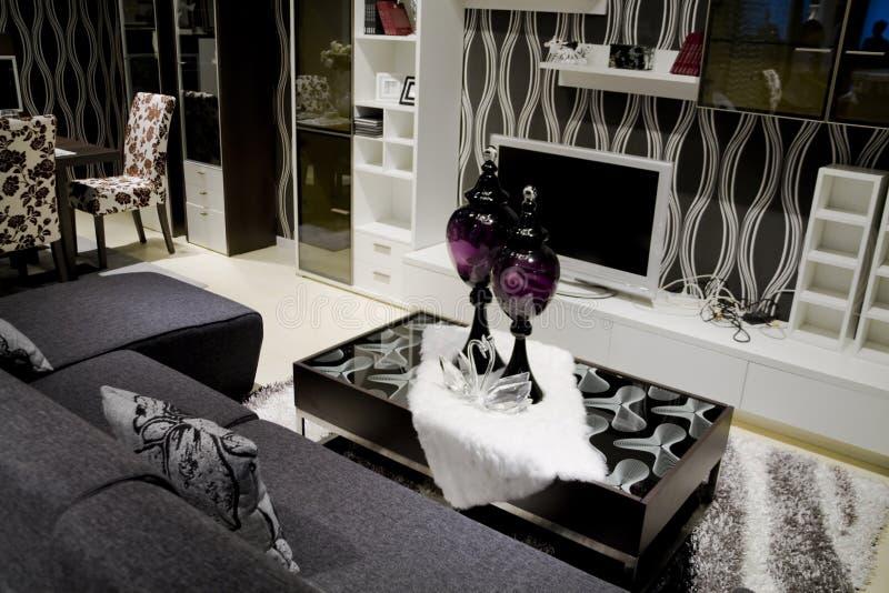 Luxury Modern Living Room Royalty Free Stock Image