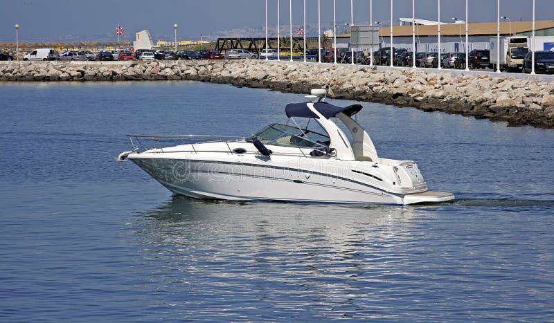 Download Luxury motor boat stock image. Image of race, engine, powerboat - 5705963