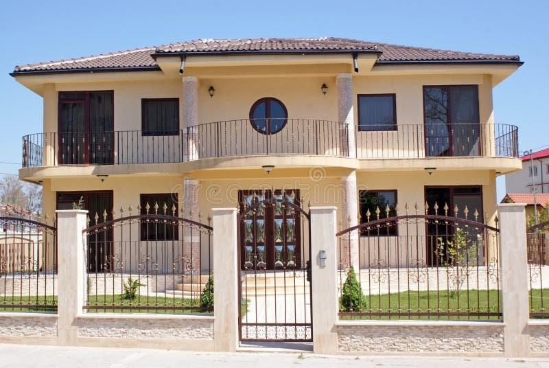 Luxury new house stock image