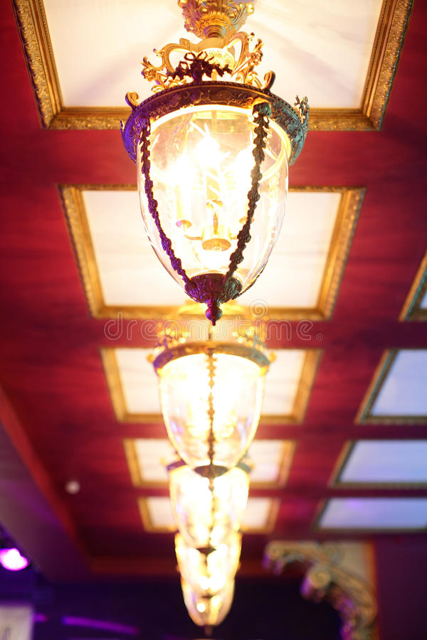 Luxury night club in european style. New and clean luxury night club in european style royalty free stock photography