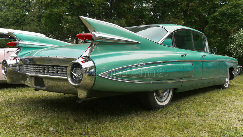 Cadillac Vintage American Clic Car Editorial Image - Image of ...