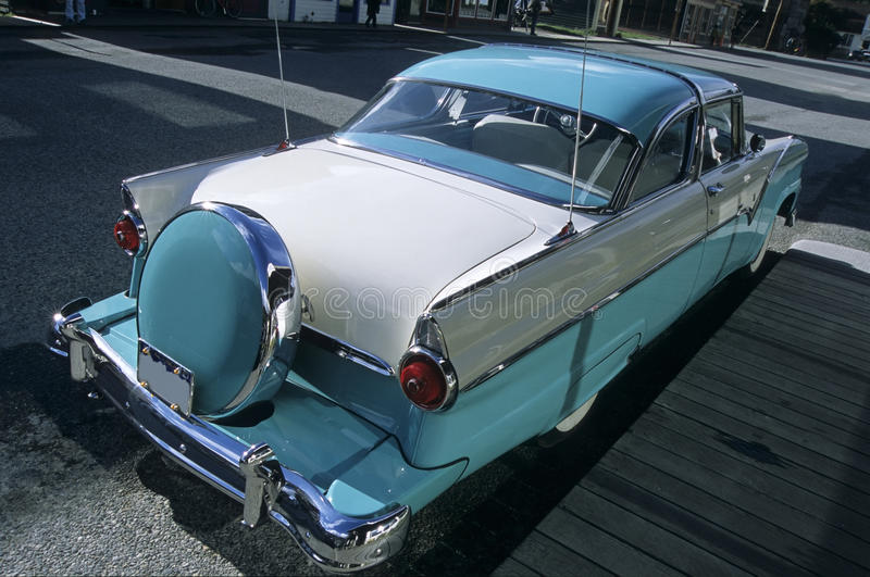 Luxury old-timer car royalty free stock photo