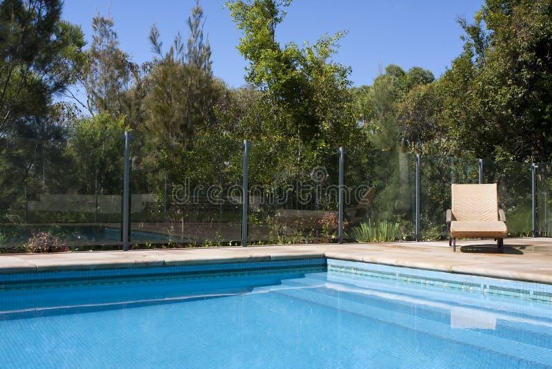 Download Luxury Outdoor Pool stock image. Image of yard, outdoor - 14152989