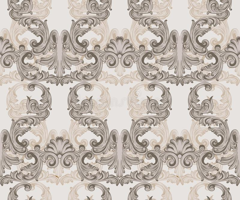 Download Luxury Pattern Background Vector Royal Victorian Ornament Rich Baroque Rococo Templates Stock