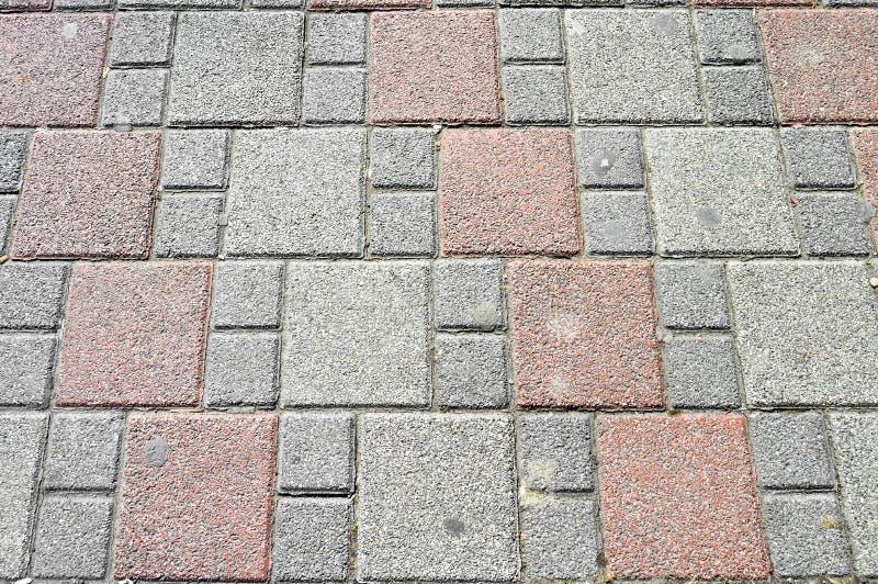 Luxury paving stone textured background. Ground, bricklaying. Luxury paving stone textured background tiles stock image