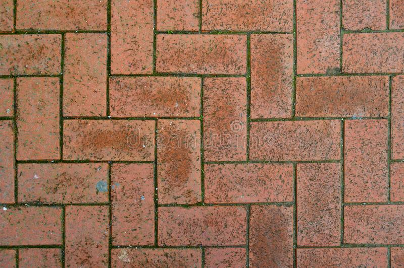 Luxury paving stone textured background. Tiles royalty free stock image