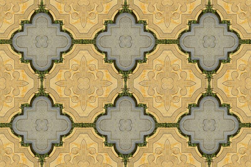 Luxury paving stone textured background. Seamless. Luxury paving stone textured background tiles. Seamless royalty free stock image