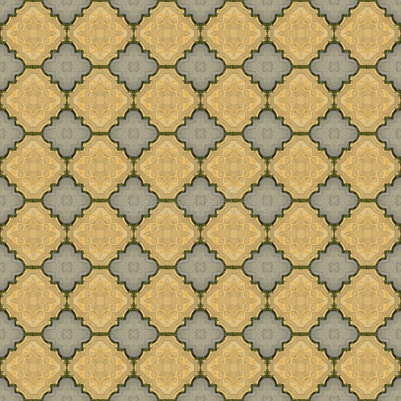 Luxury paving stone textured background. Seamless. Luxury paving stone textured background tiles. Seamless royalty free illustration