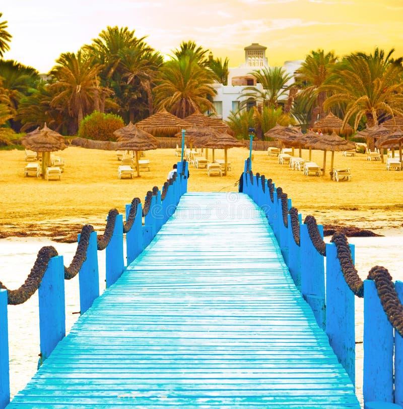 Luxury pier stock image