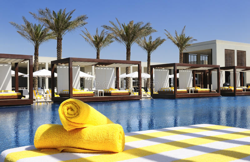 Luxury place resort stock image