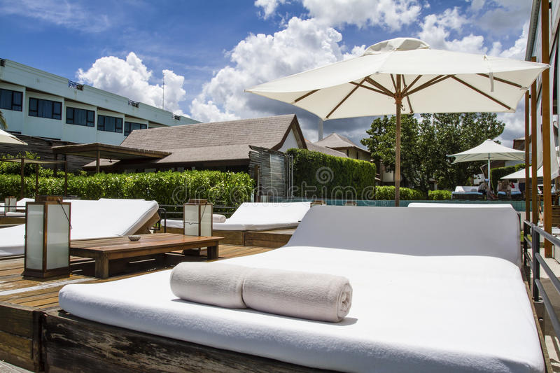 Luxury place resort and spa stock images