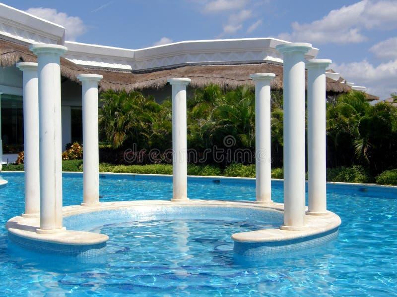 Luxury pool royalty free stock image