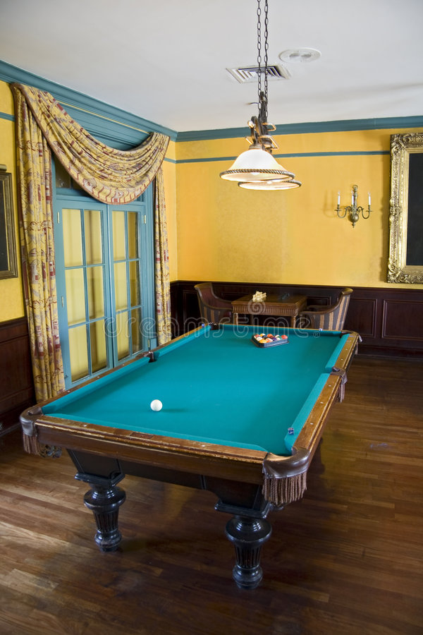 Download Luxury pool table stock photo. Image of home, design, activity - 7291646