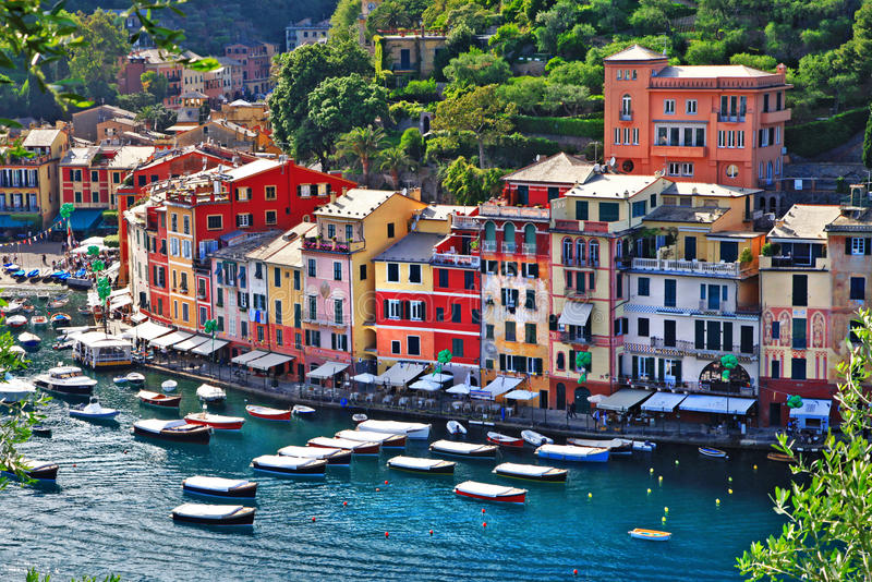 Luxury Portofino, Liguria stock photo