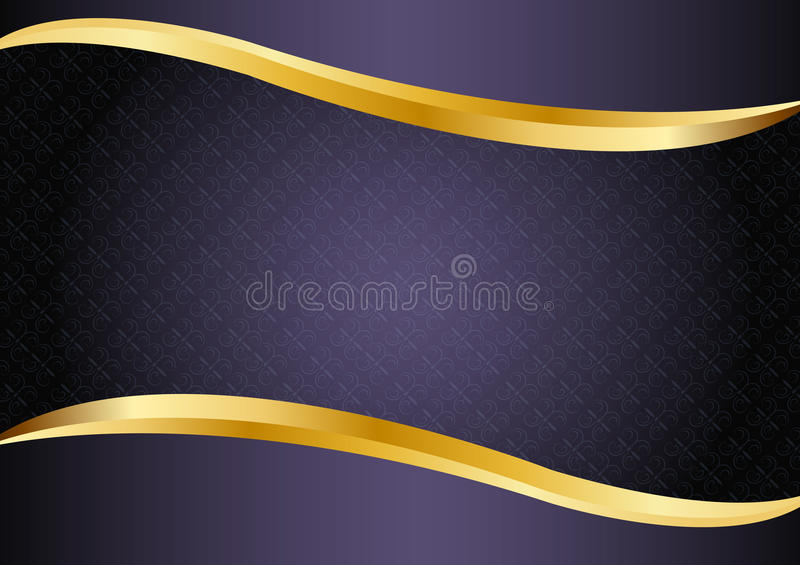 luxury purple with gold lines background vector design