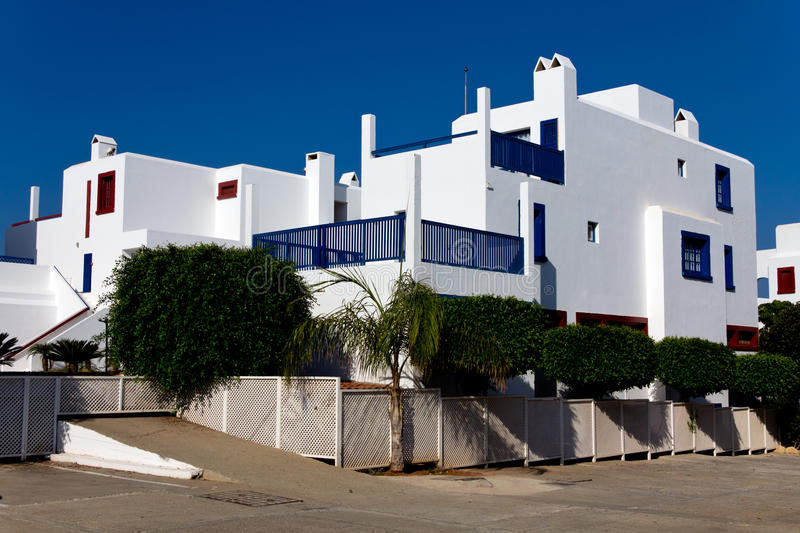 Luxury , residential house in Cyprus stock images