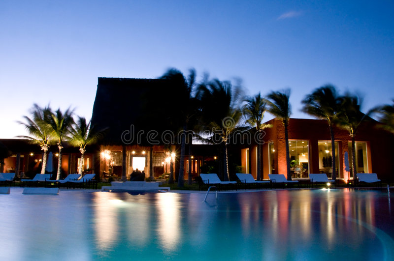 Luxury Resort royalty free stock photos