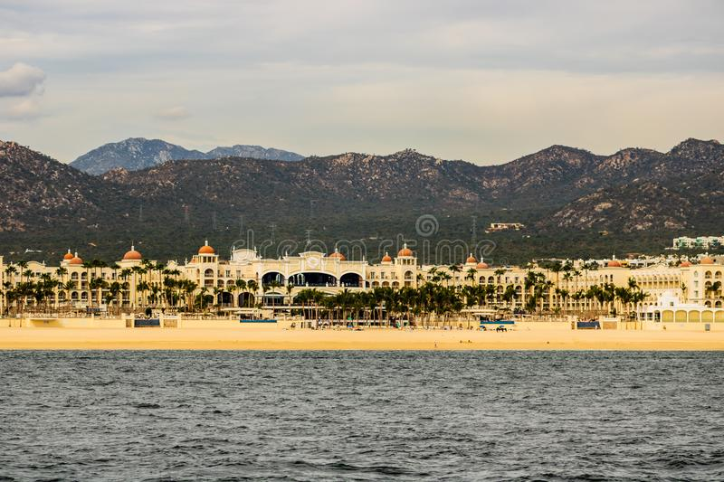 Luxury resort in Cabo San Lucas, Mexico, Baja California royalty free stock images