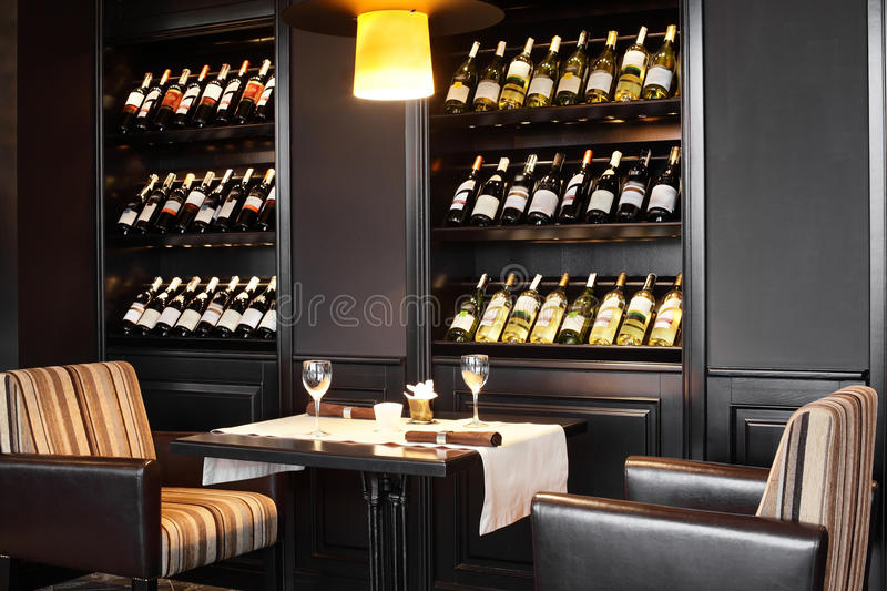 Download Luxury Restaurant In European Style Stock Image - Image: 34488701