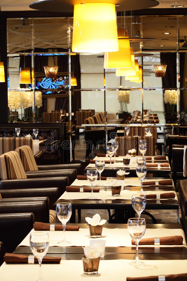 Download Luxury Restaurant In European Style Stock Image - Image: 34488715
