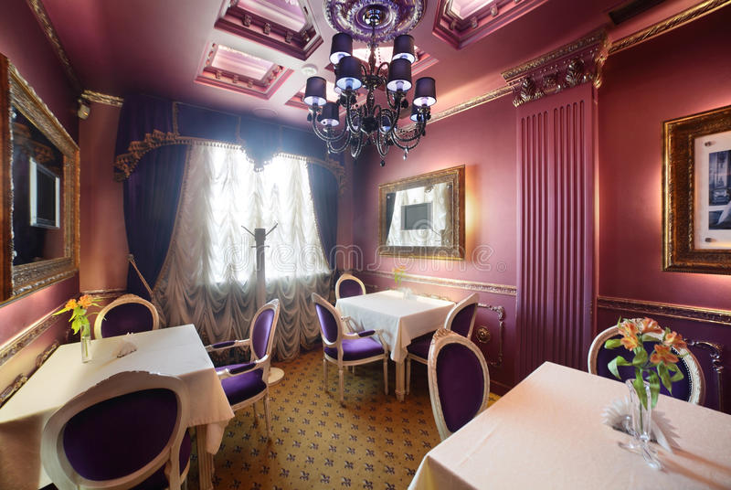 Download Luxury Restaurant In European Style Royalty Free Stock Photo - Image: 34488845
