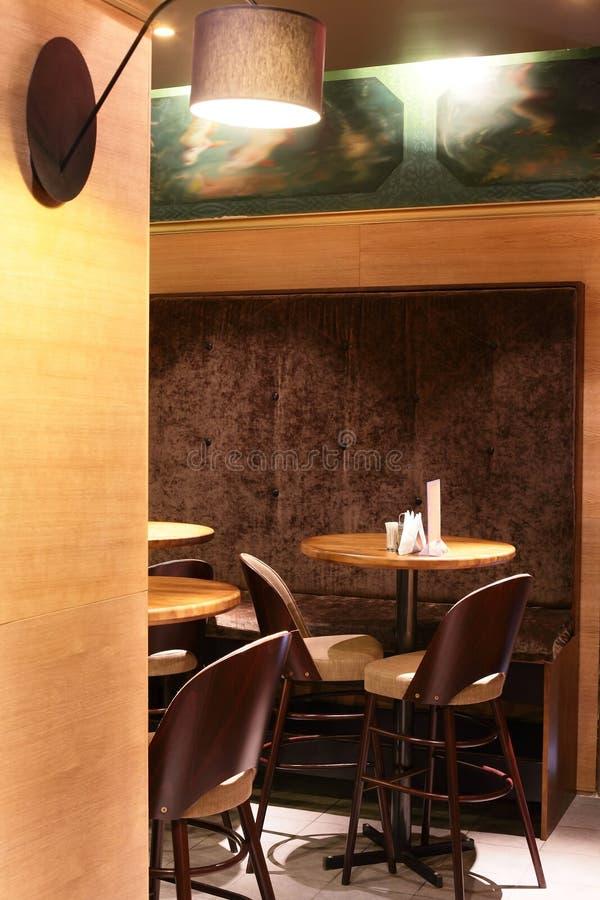 Luxury Restaurant In European Style Royalty Free Stock Photo