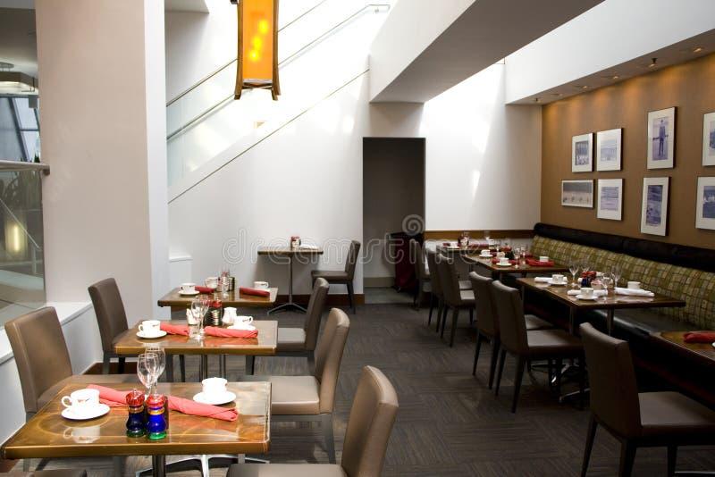 Luxury restaurant stock photo