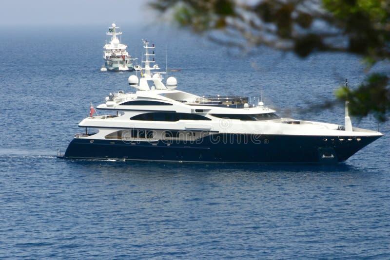 Luxury on sea royalty free stock image