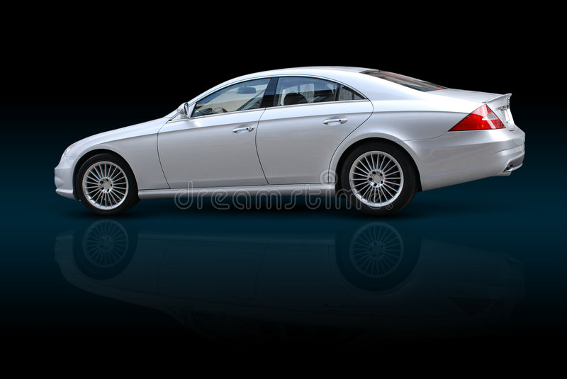Luxury Sedan Royalty Free Stock Photo