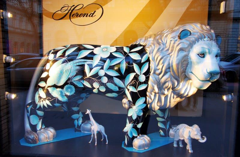 Luxury shop window stock images
