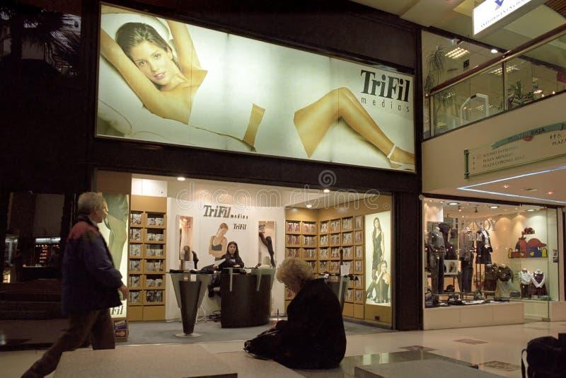 Luxury shopping mall Alto Palermo, Buenos Aires stock photo