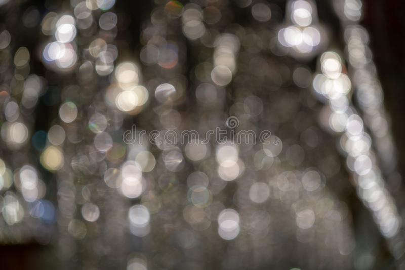 Luxury silver gray glitter with rainbow spectum for background and wallpaper royalty free stock images