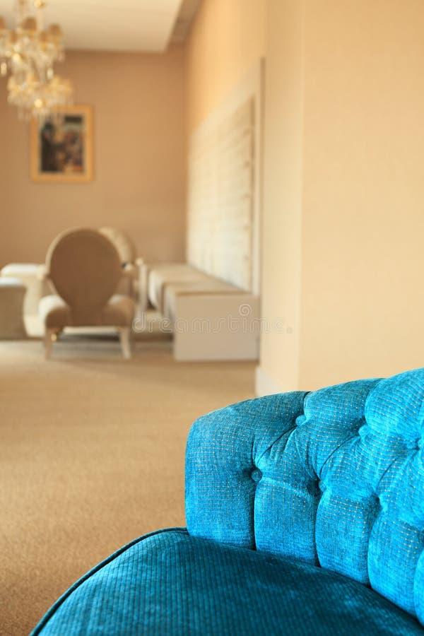 Luxury sofa upholstery royalty free stock photo