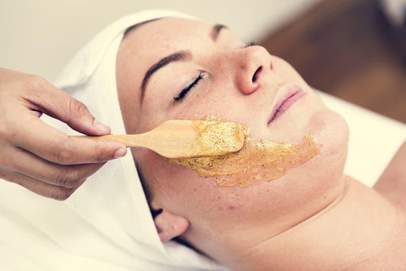 Luxury spa θεραπεία θεραπείας σαλονιών στοκ φωτογραφία