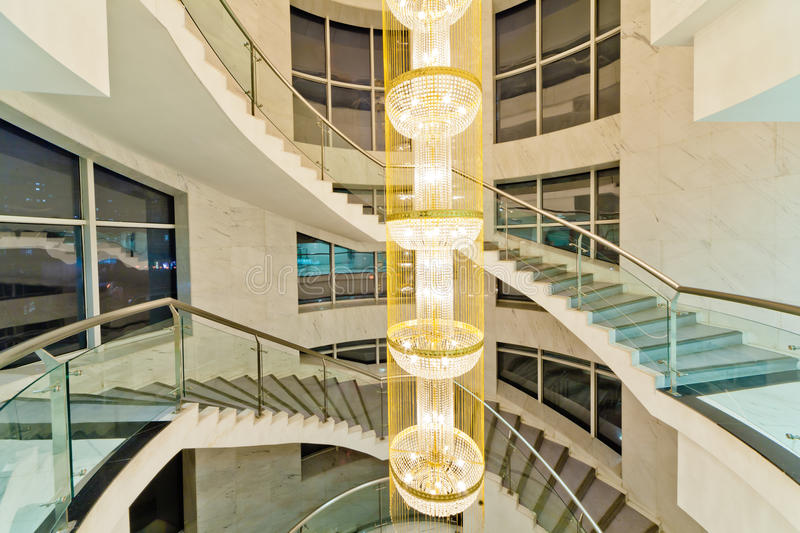 Luxury stairs royalty free stock image