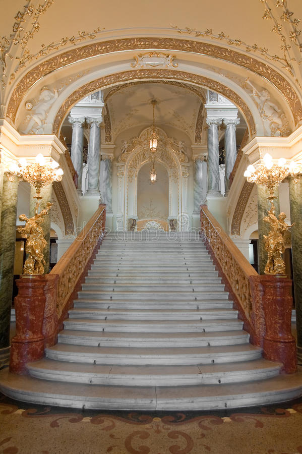 Download Luxury Stairway Stock Image - Image: 9496401