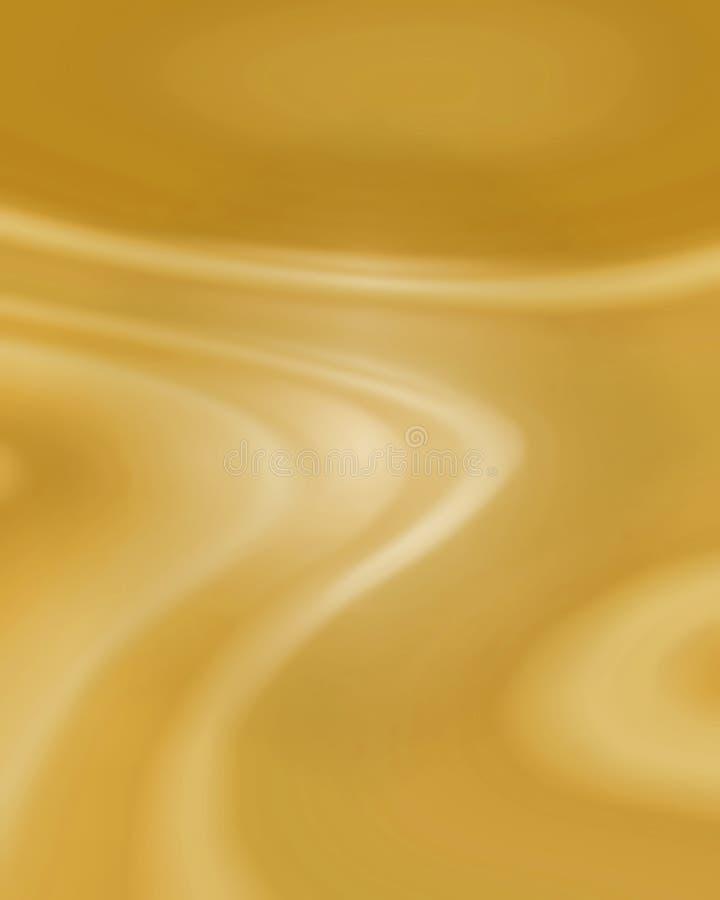 Luxury Sweep Of Fabric Stock Image
