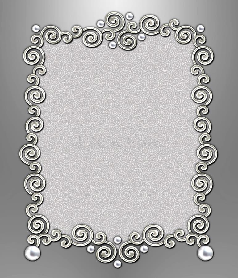 Luxury Swirl Frame royalty free stock photos