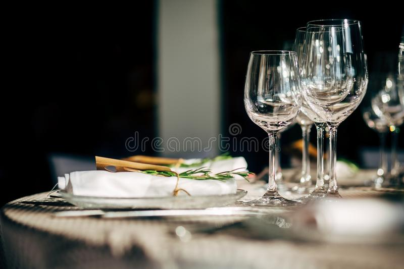 Download Luxury Table Setting For Party Christmas Holidays And Weddings Stock Image - Image & Luxury Table Setting For Party Christmas Holidays And Weddings ...