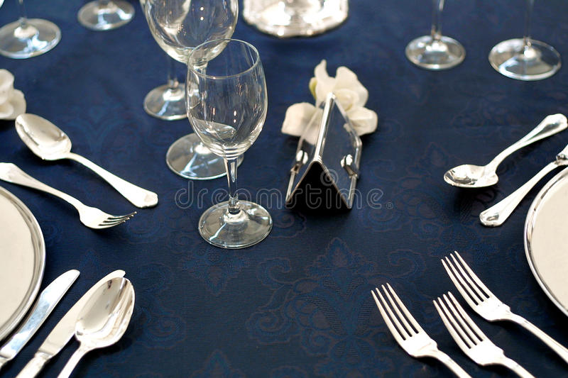 Download Luxury tablecloth stock photo. Image of blue, female - 27904338