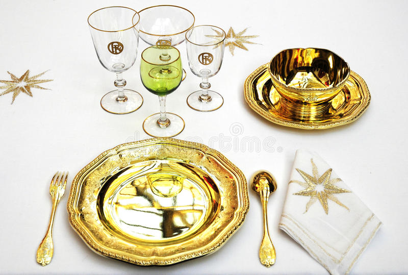Download Luxury Tableware For Royal Palace Stock Photo - Image: 11133232
