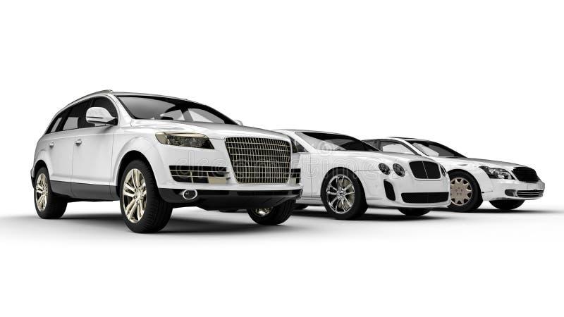 Luxury transportation stock illustration