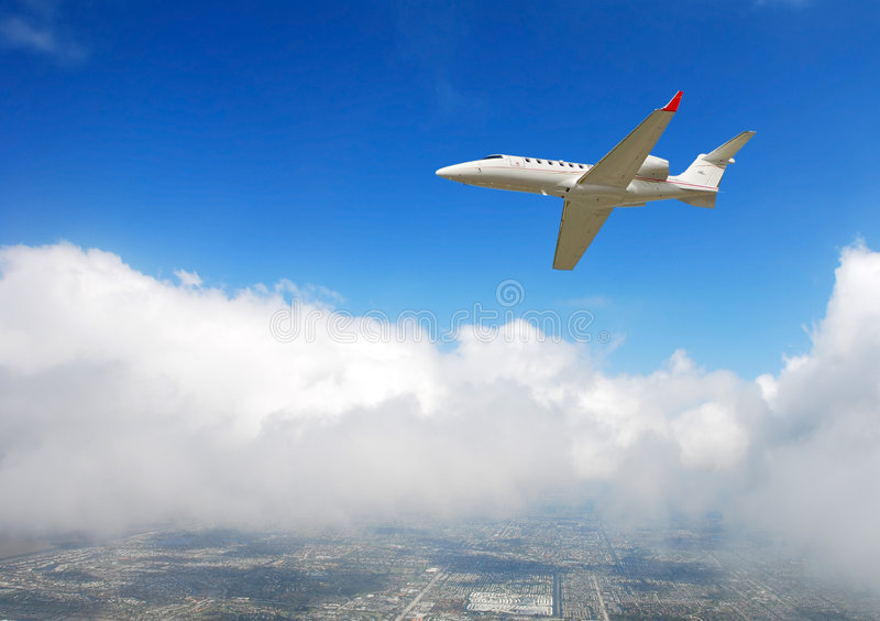 Luxury Travel By Private Jet Stock Photography